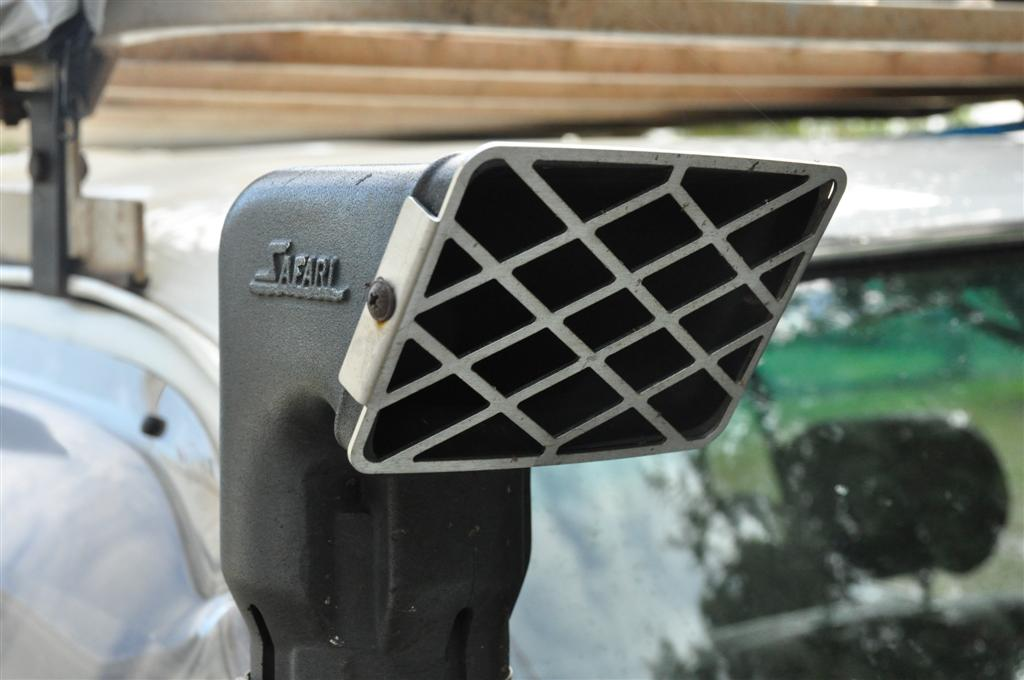 Stainless steel snorkel grid