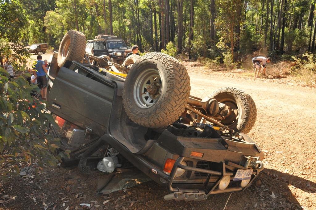 Take it easy on gravel roads