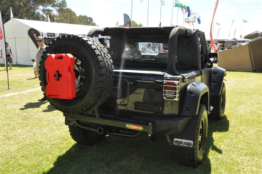 Jeep at the Perth 4WD show