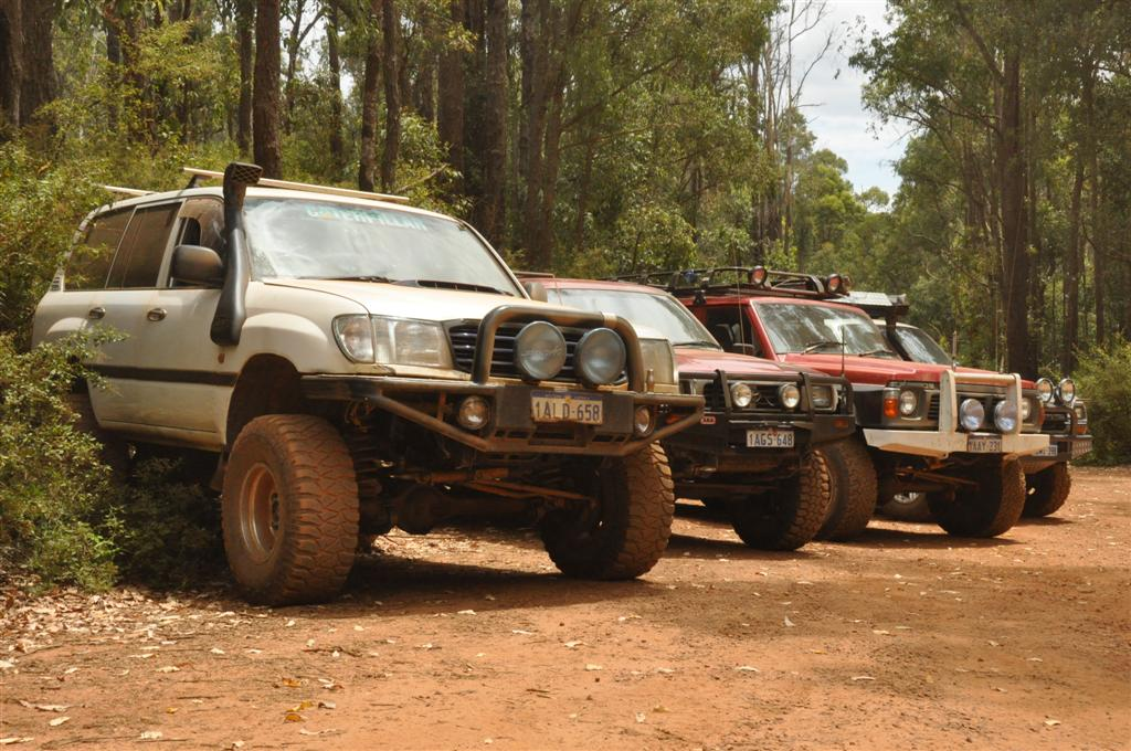 Four wheel driving with mates