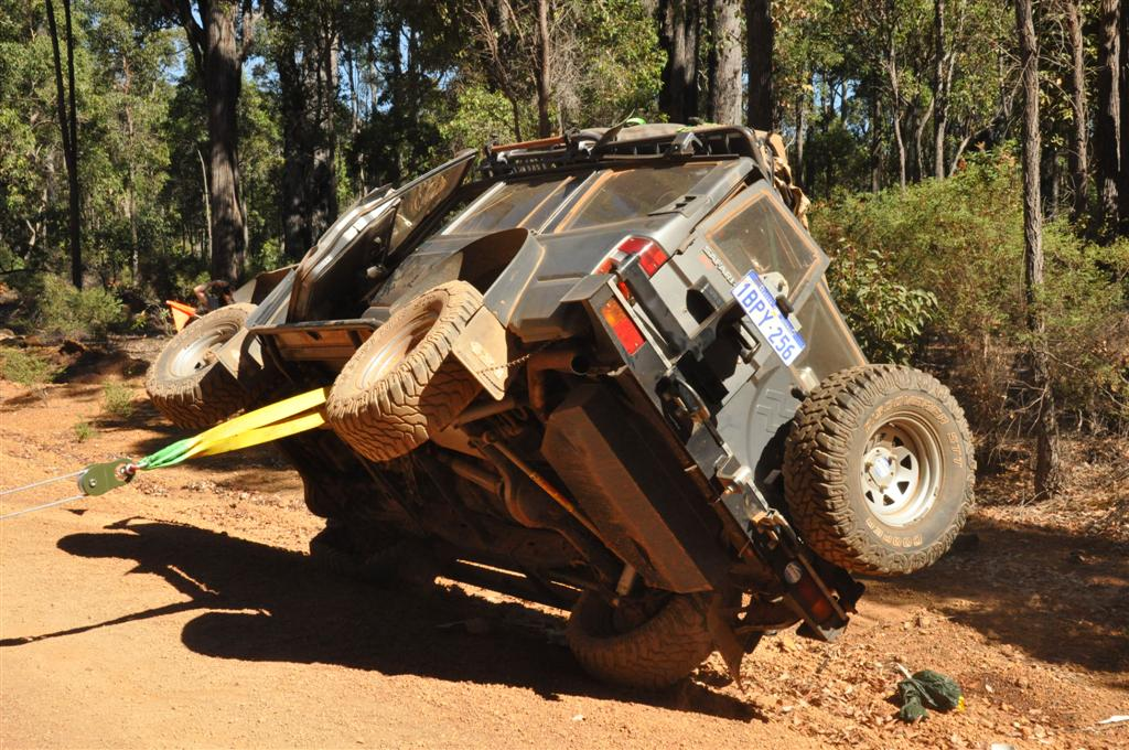 Vehicle rollover recovery