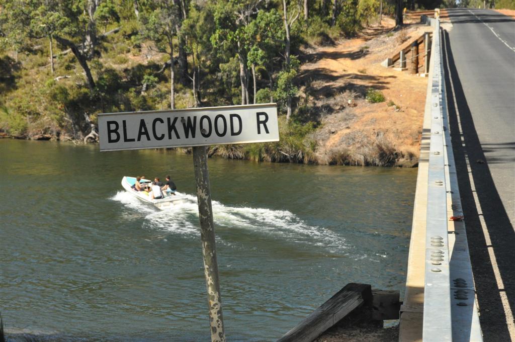 Blackwood River skiing