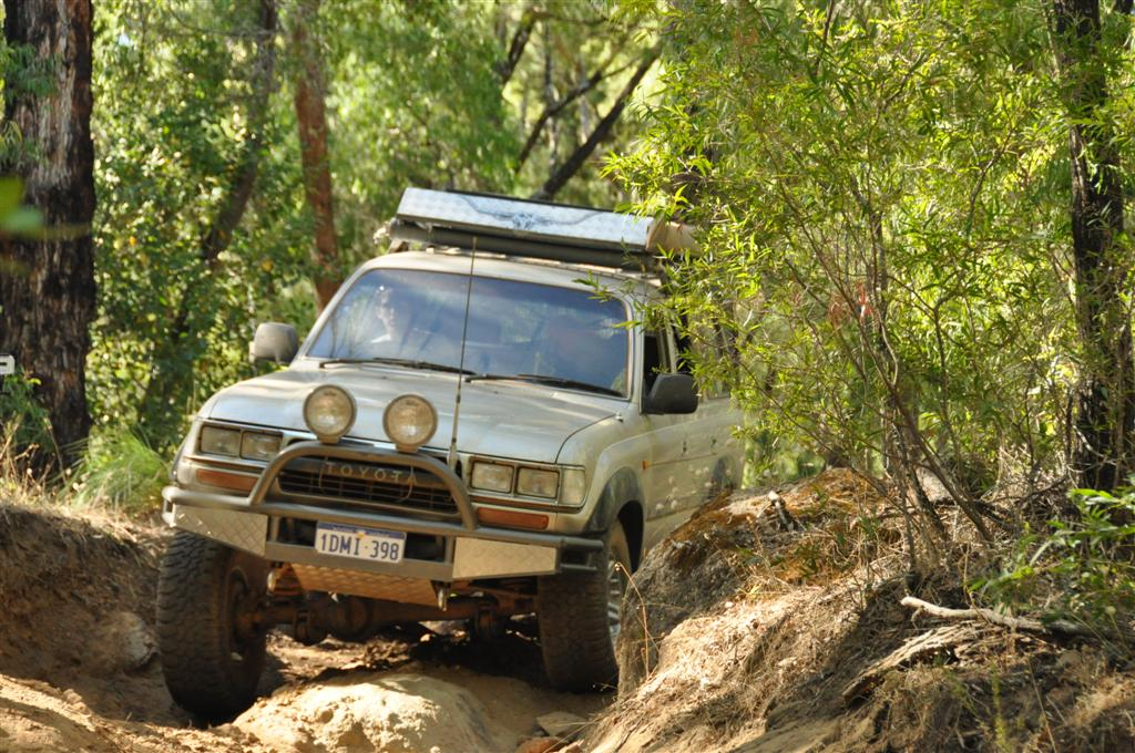 Exploring 4WD tracks in the south west