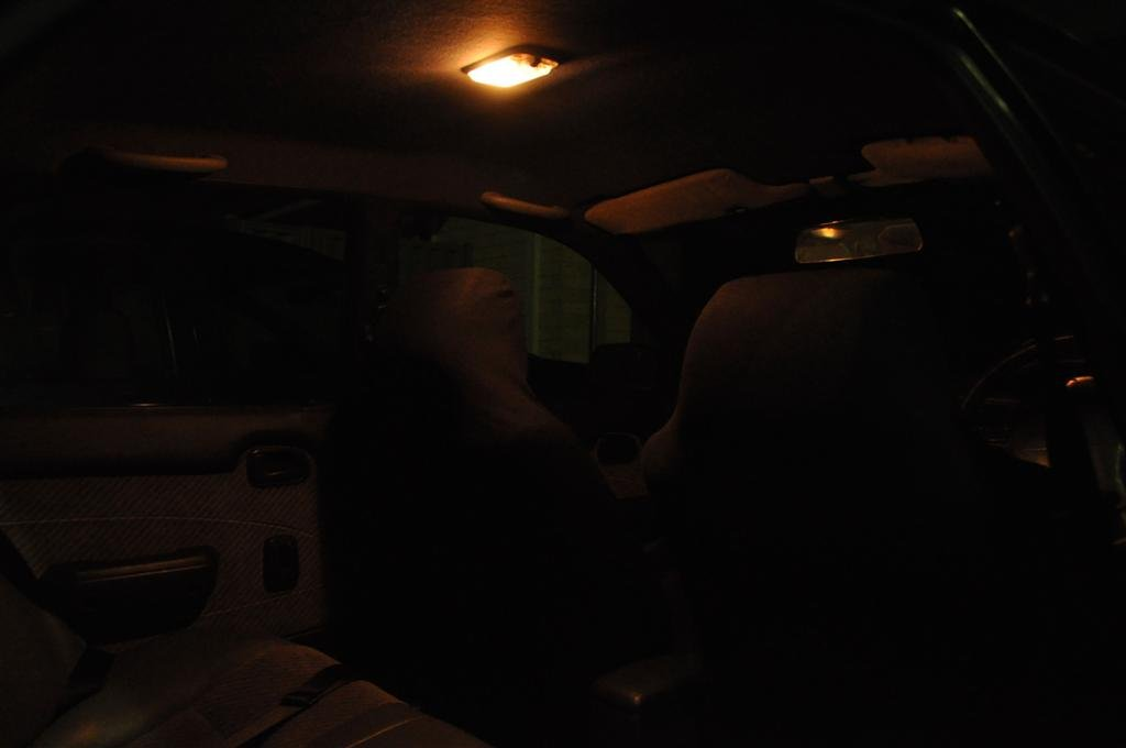 Standard interior lighting on a 1996 Corolla
