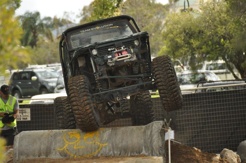 Competition Suzuki at the Perth 4WD Show