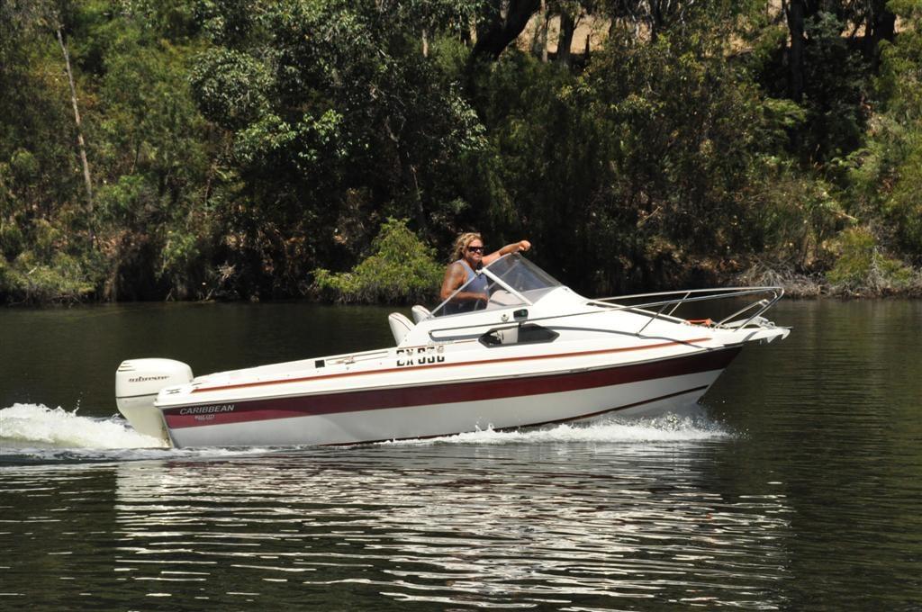 Boating on the Blackwood River