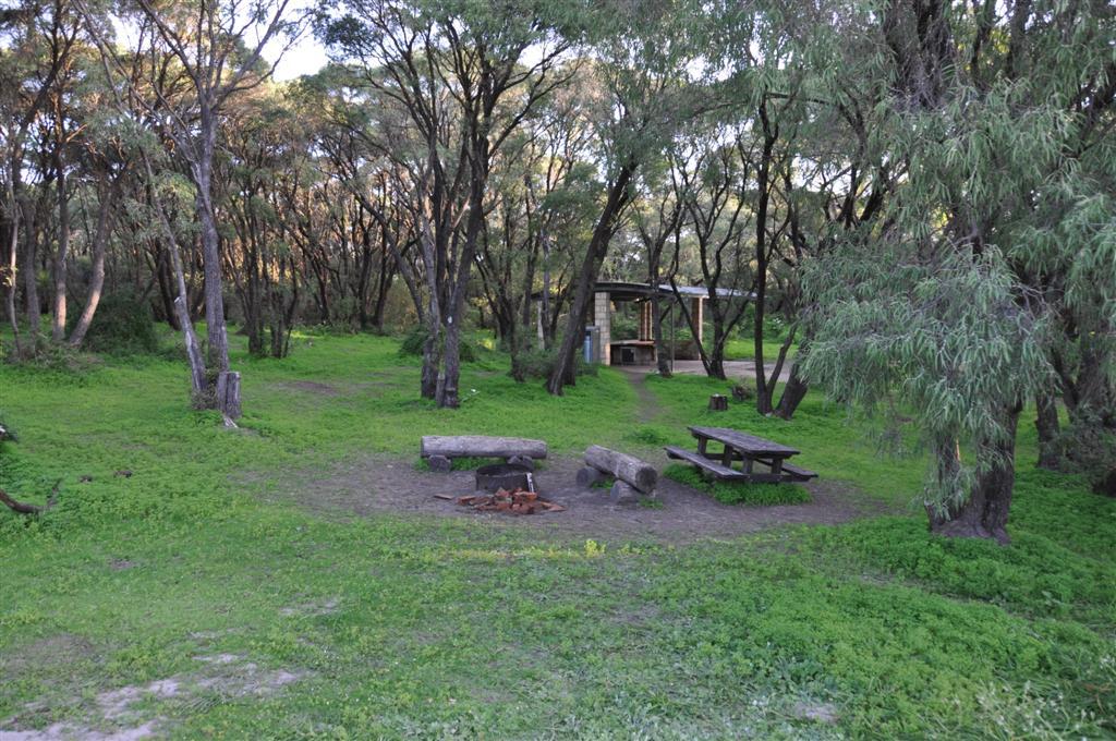 Camping at Conto's