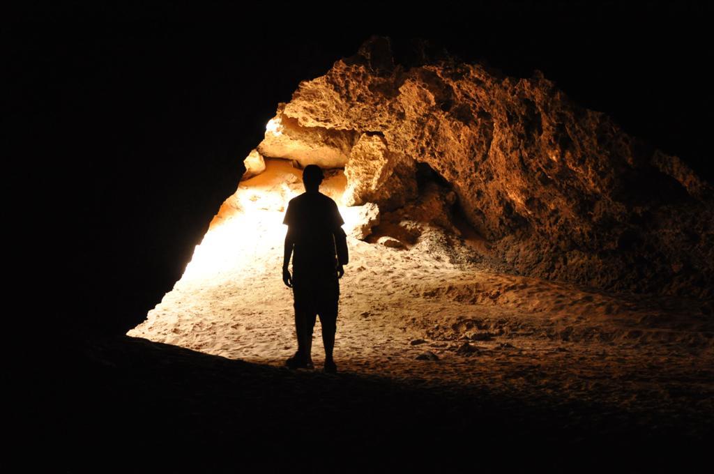 Exploring Nambung Caves