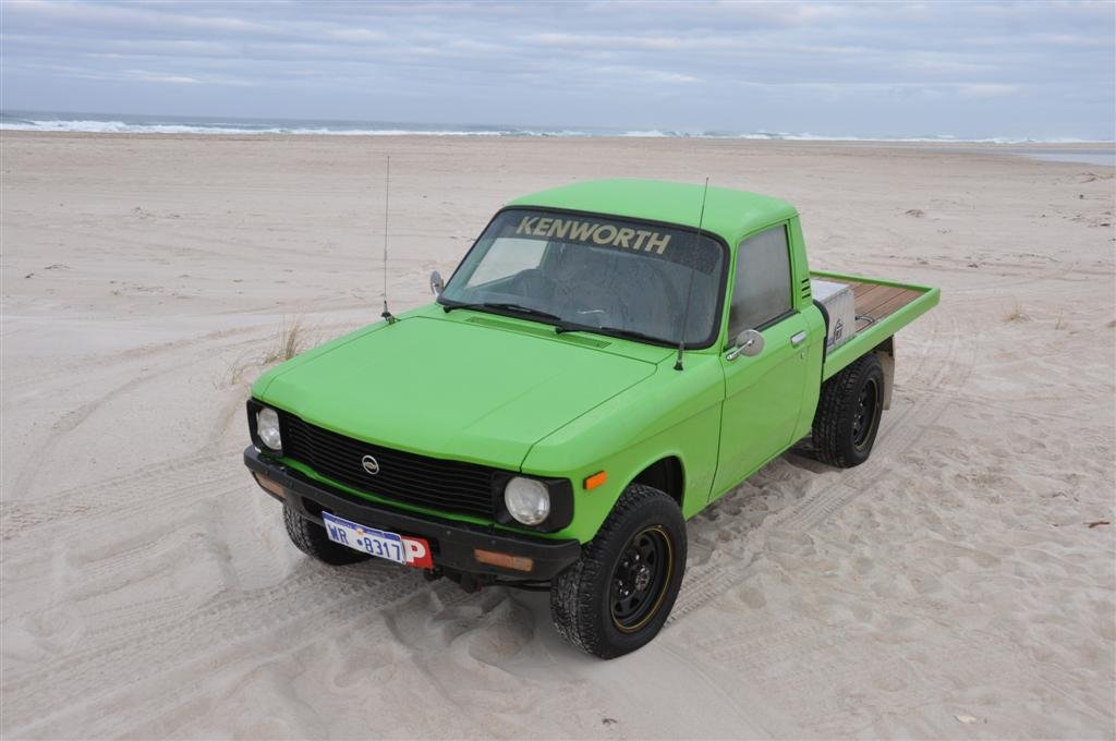A unique little ute