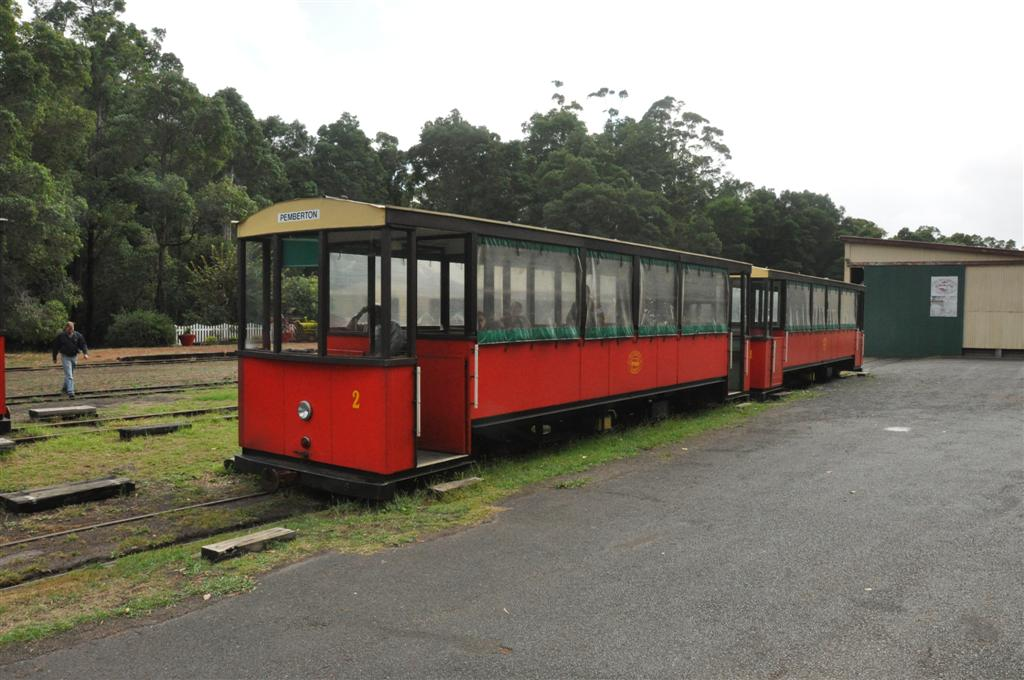 Pemberton tourist train