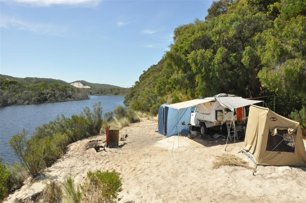 Camping Inland On The Warren River