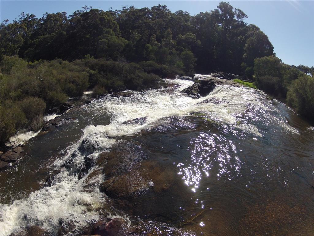 Margaret River inland
