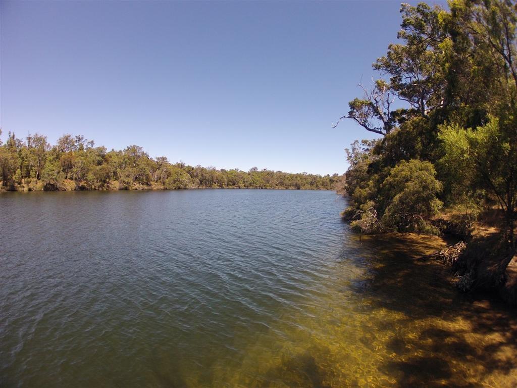 Enjoying the Blackwood River
