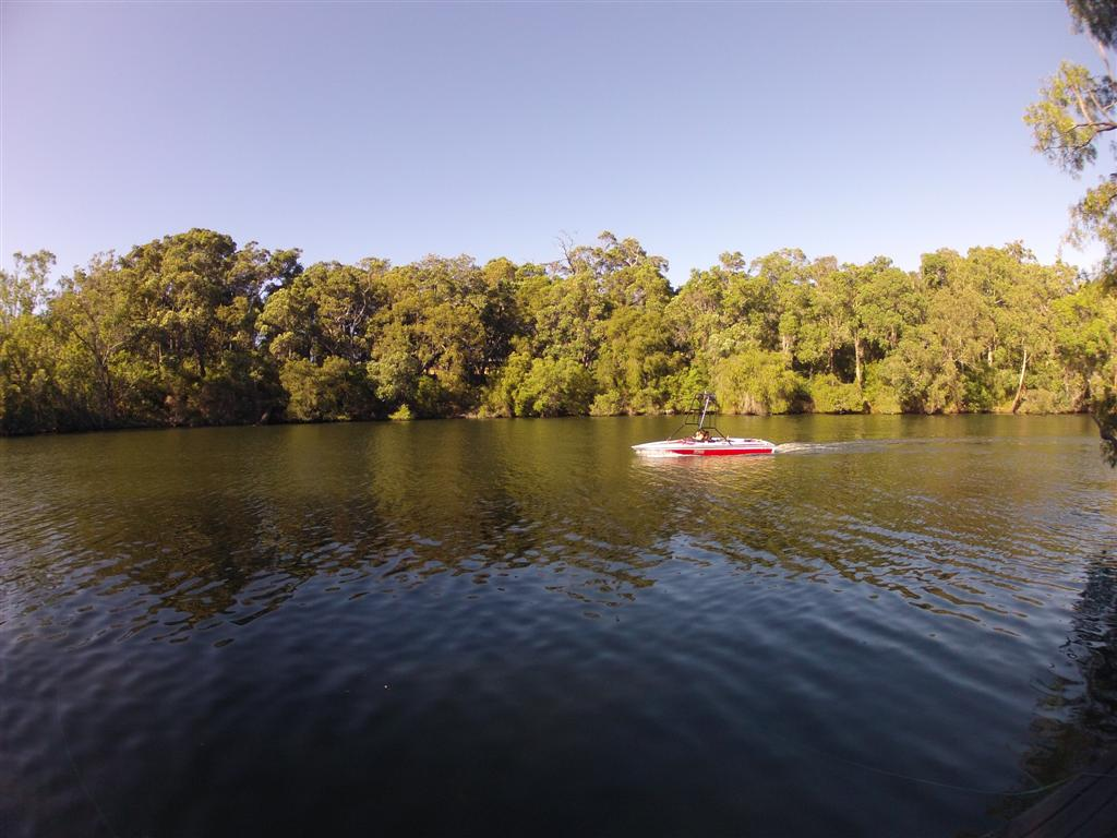 Blackwood River boating at Alexandra Bridge