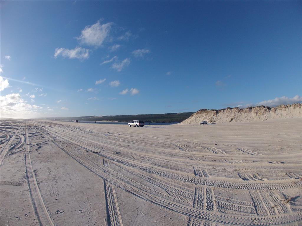 Plenty of beach for all