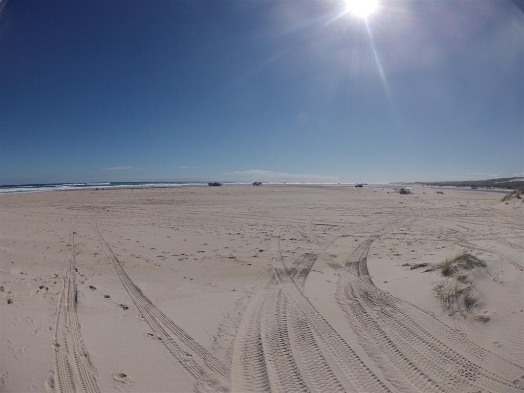Nothing beats a bit of beach driving