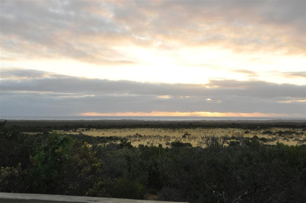Watching the sun go down at Cervantes Pinnacles
