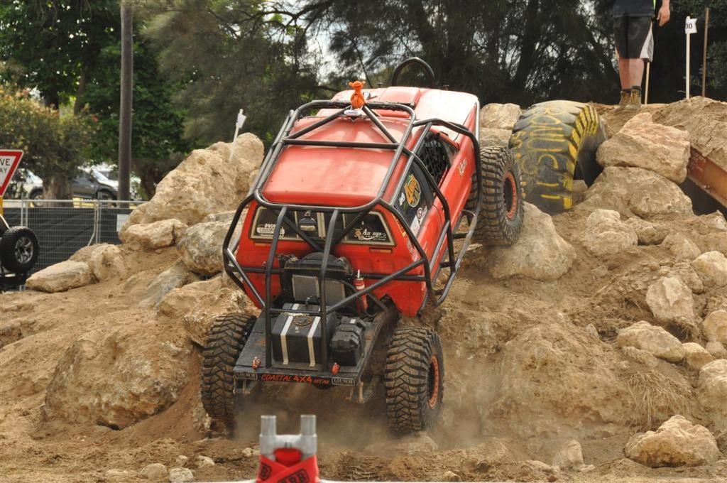 Rock crawling in Perth