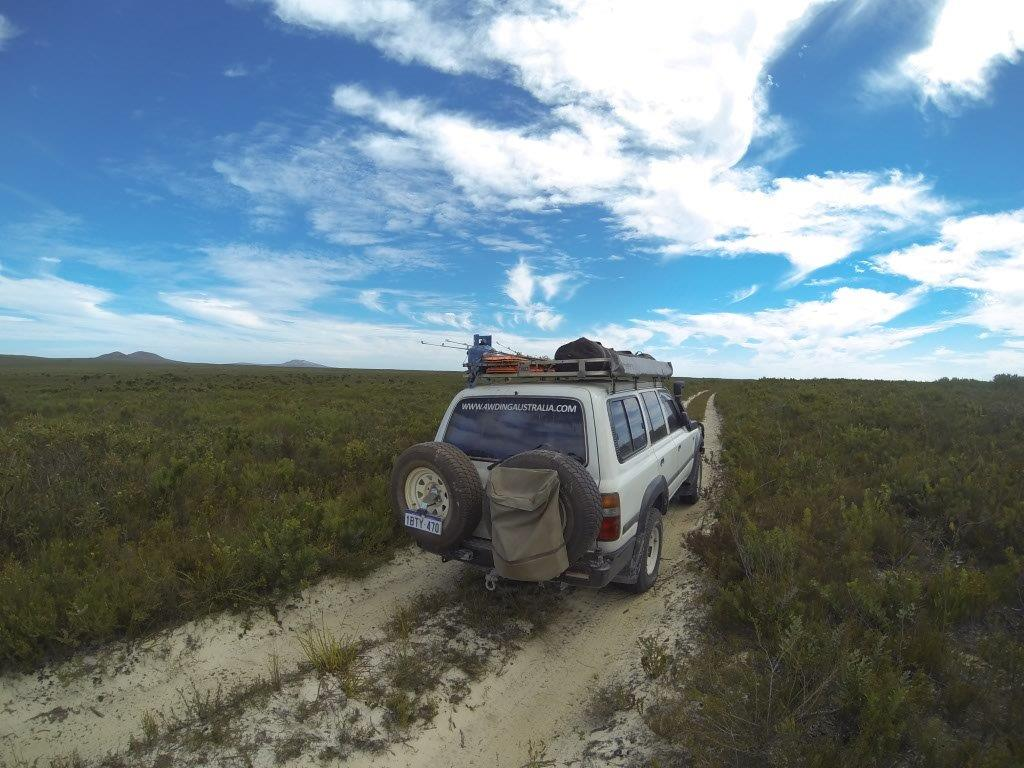4wd Tracks Through Esperance