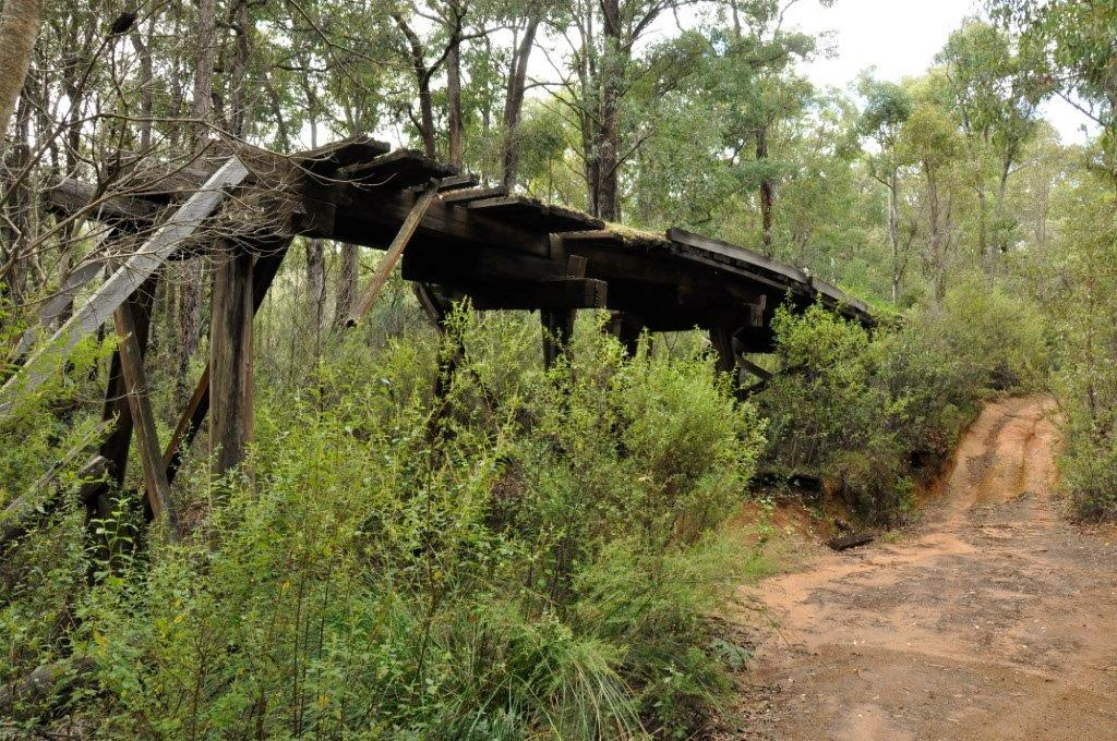 A Delapitated Bridge in Dwellingup