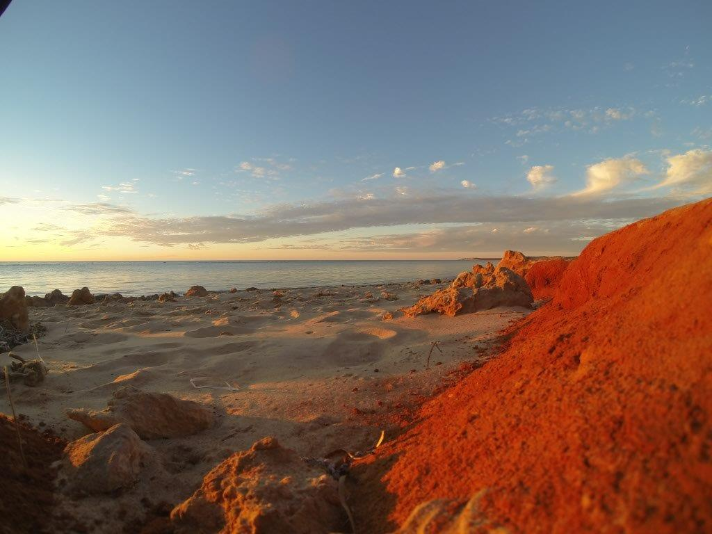 Amazing Red Sand