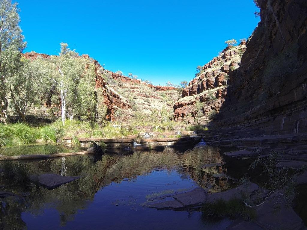 Amazing Water at Karijini