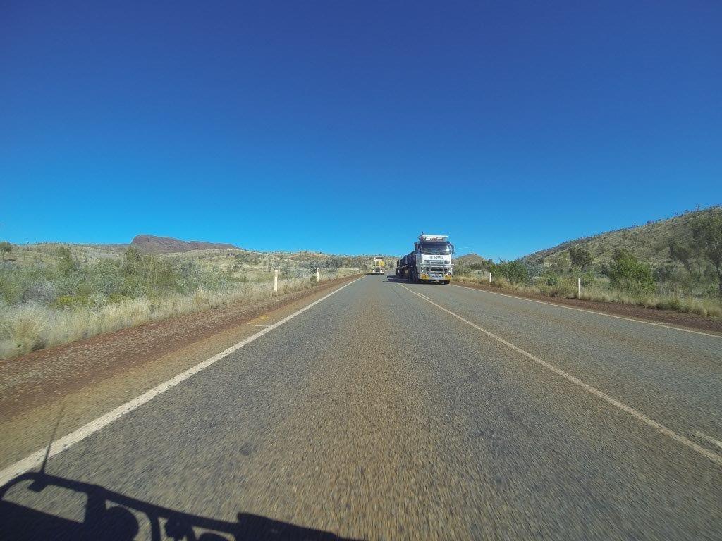 Bitumen Driving up North