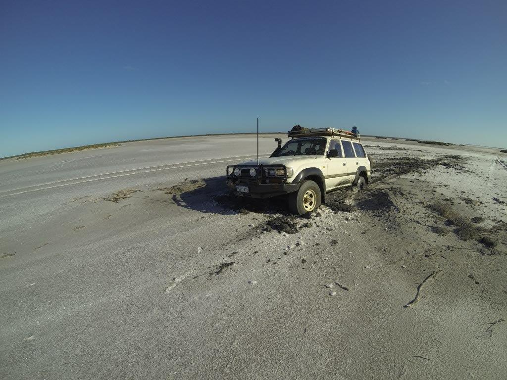 Bogged in the Middle of a Salt Lake