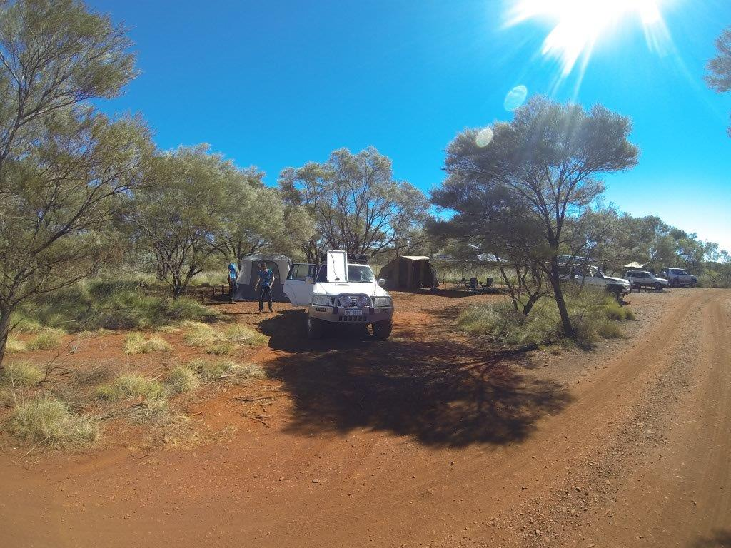 Camped at Karijini