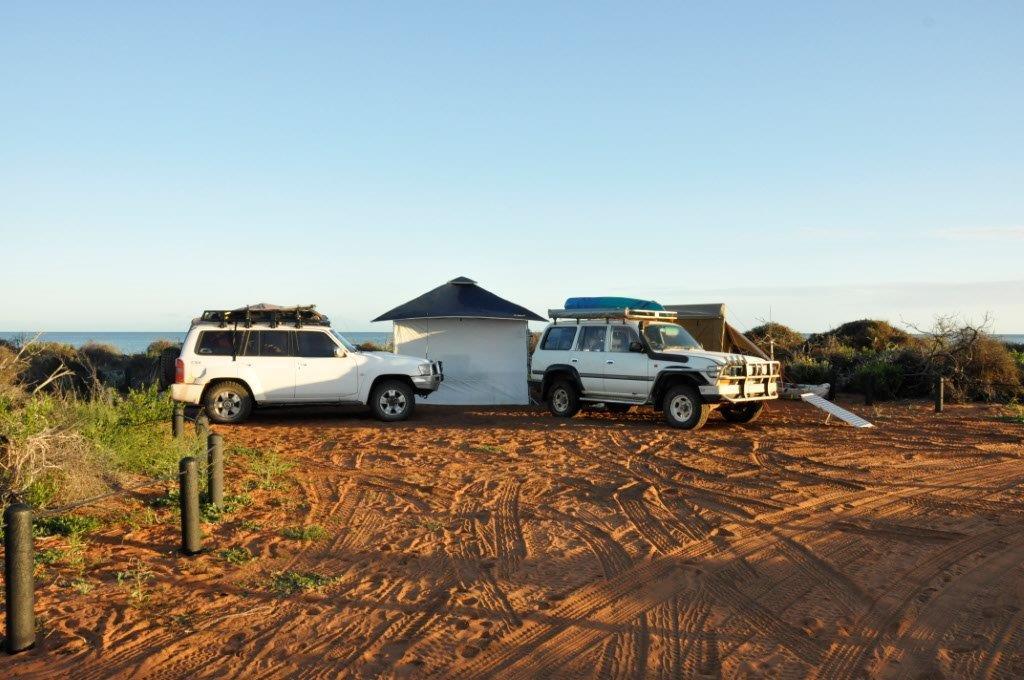 Camping at Francios National Park