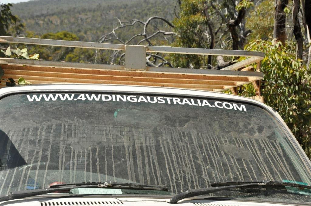 Dirty wind screen