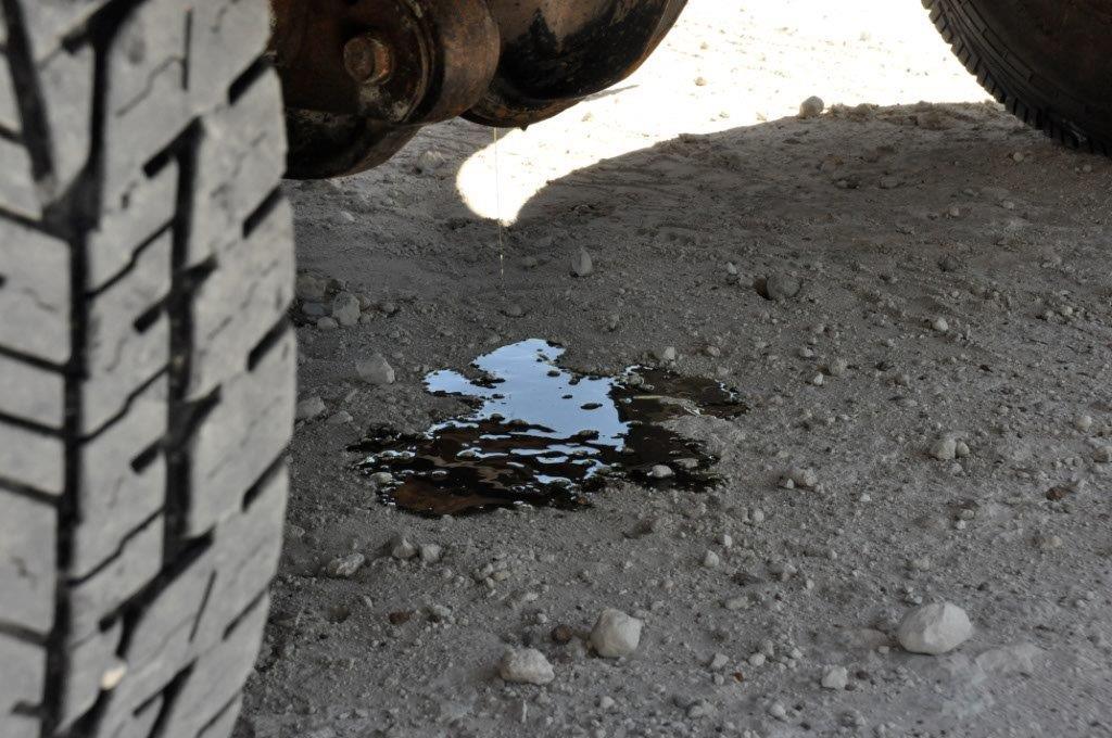 Diff Oil Leak