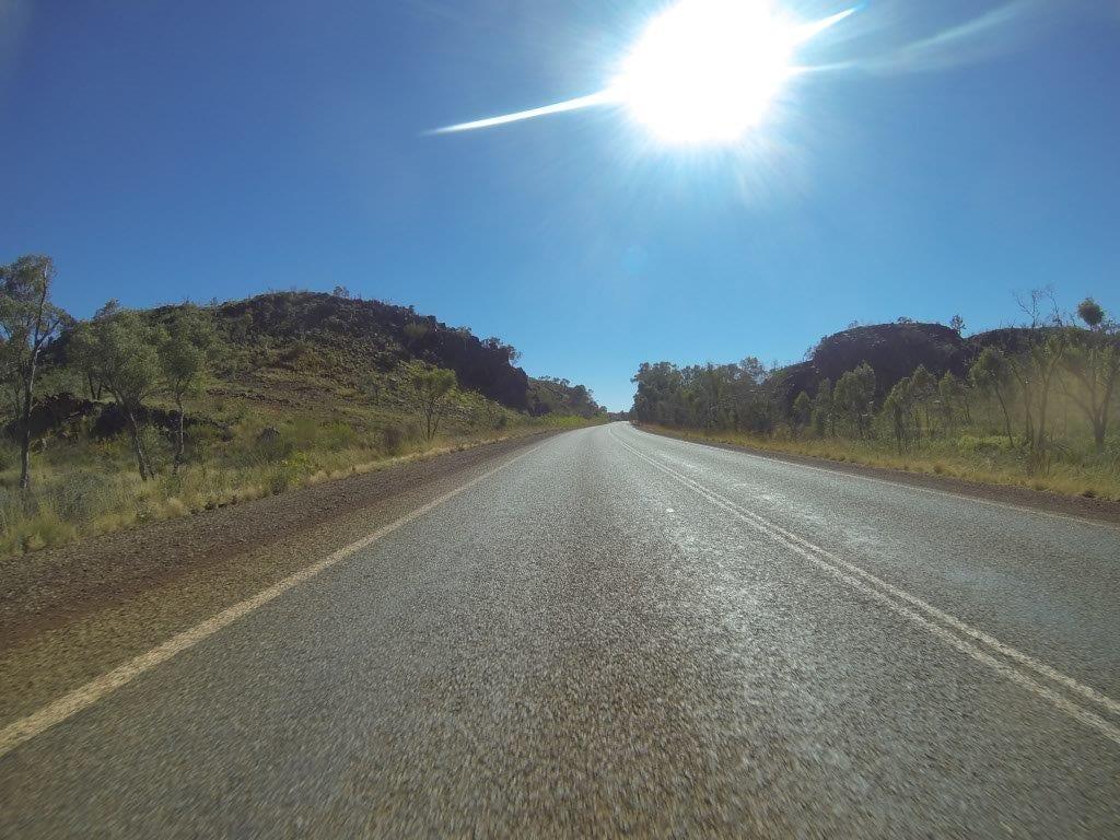 Driving to Karratha