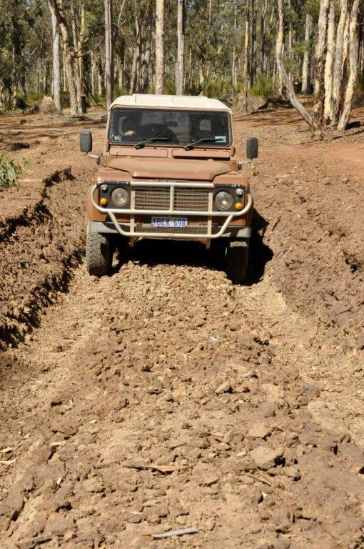 Dry Mud Runs at Julimar