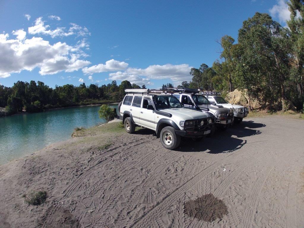 Enjoying Black Diamond Lake