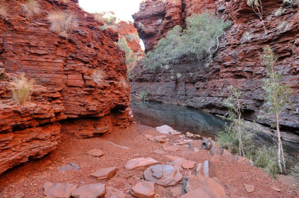 Enjoying Karijini