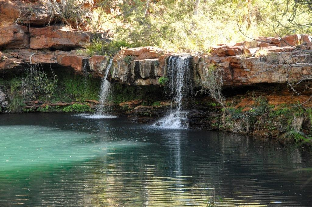Fern Pool Karijini Waterfall