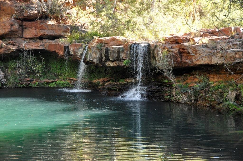 Fern Pool Karijini Waterfall