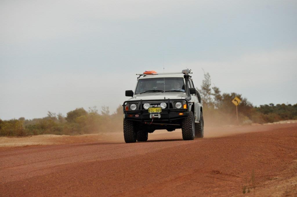 GQ Patrol on the Holland Track