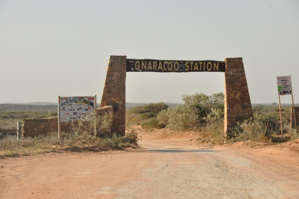 Gnaraloo Station Sign