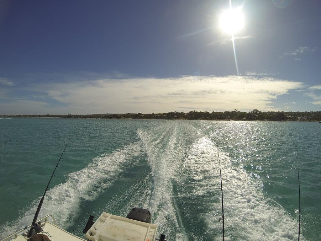 Heading Out in the Boat at Dunsborough
