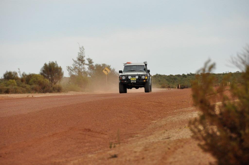 High Speed Gravel Driving