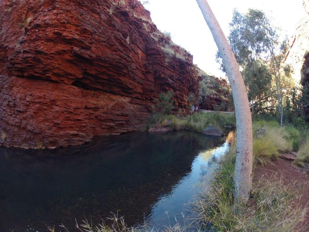 Hiking at Karijini