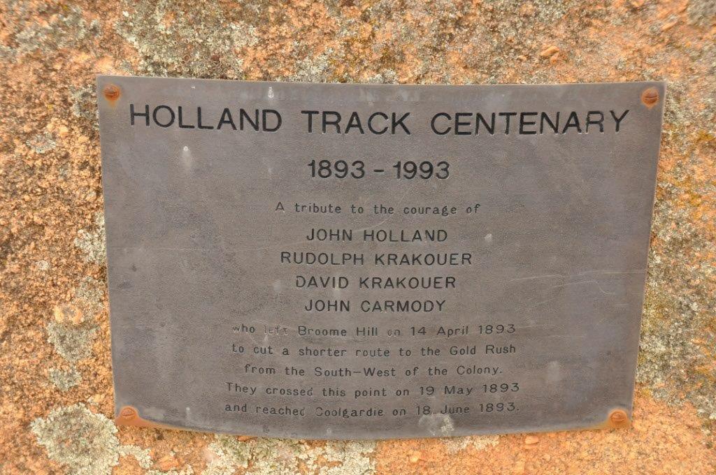Holland Track Information