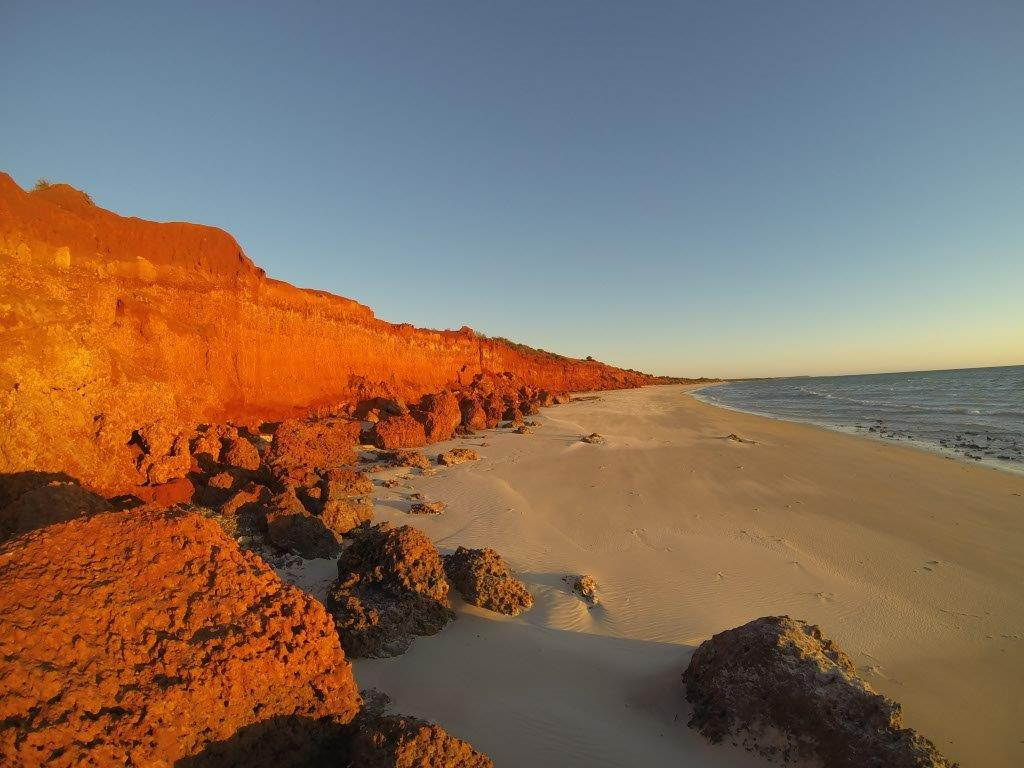 Incredible Red Sand Cliffs