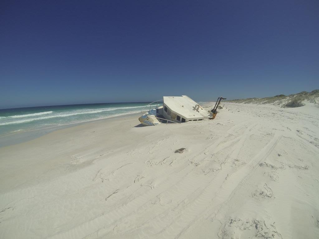 Israelite Bay Beach Boat