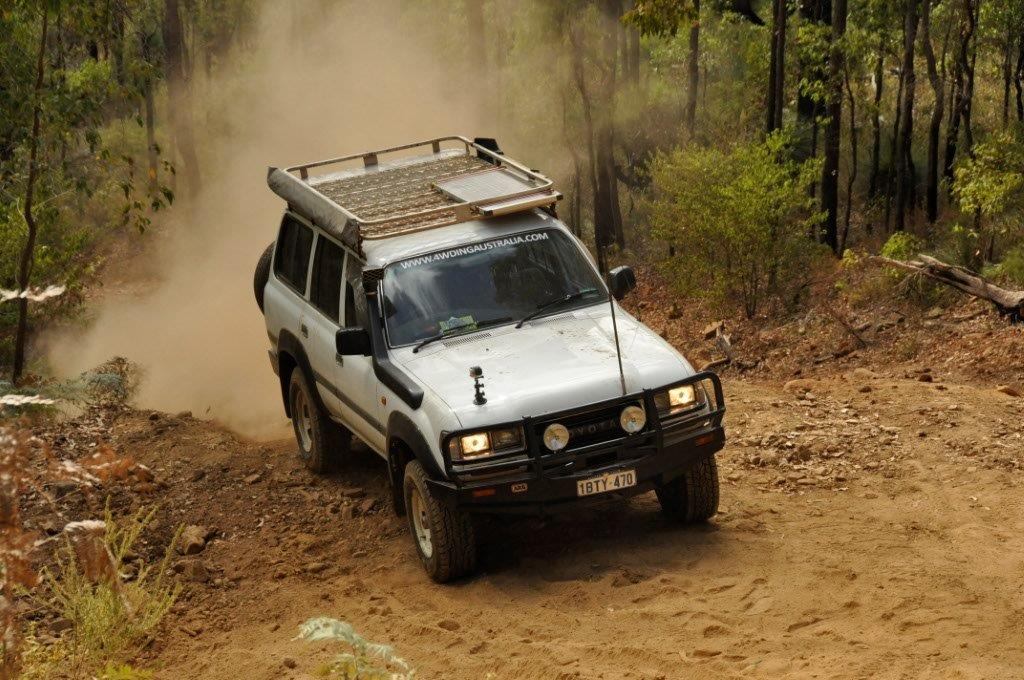 Julimar 4WD Tracks in the 80