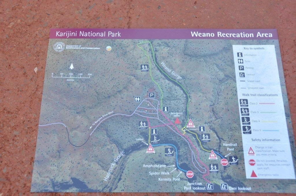 Karijini Map