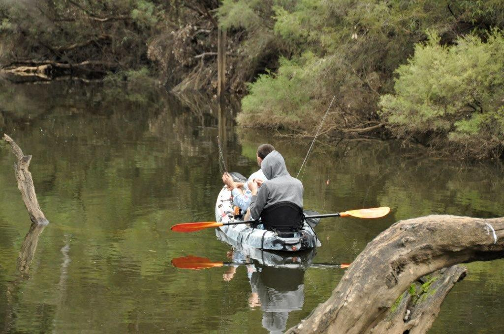 Kayak Fishing at Dwellingup