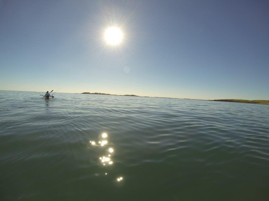 Kayaking to Dixon Island